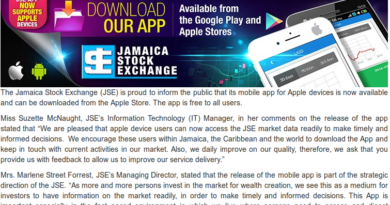 JSE Mobile App - Caribbean Value Investor