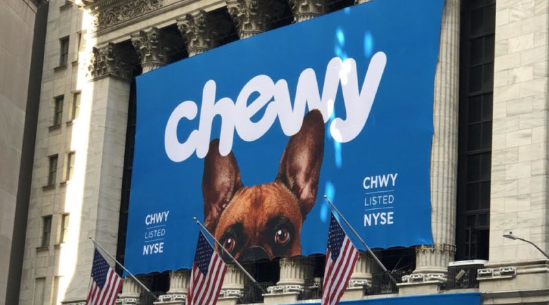 Chewy pet supplies ipo