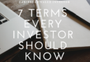 7 Terms Every Investor Should Know
