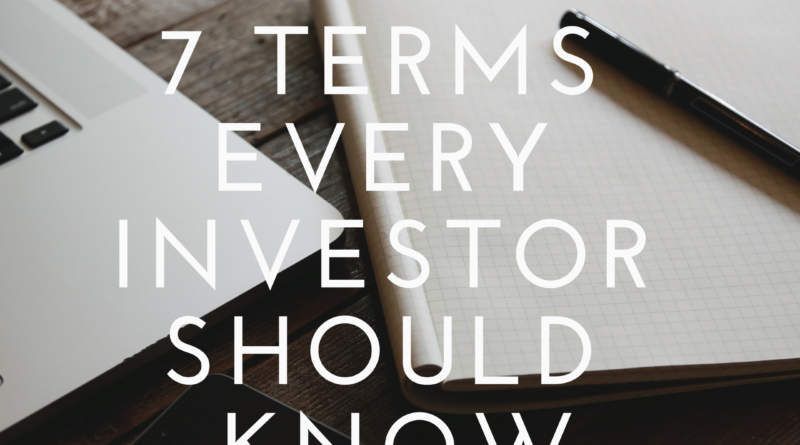 7 Terms Every Investor Should Know - Caribbean Value Investor